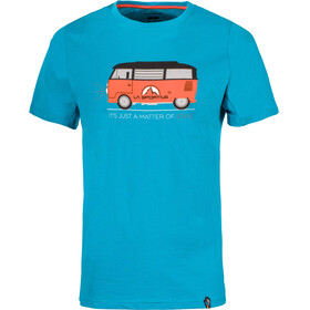 La Sportiva Van Shortsleeve Shirt Men blue